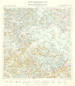 Suomen Taloudellinen Kartta 1 100000 Finlands Ekonomiska Karta 1