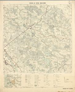Topografinen Kartta 1 20000 7212 22 24 572 82 Oulujoki