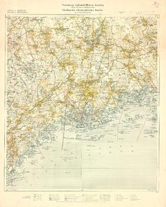 Suomen Taloudellinen Kartta 1 100000 Kihlakunnankartta