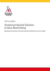 Designing Industrial Solutions in Value-Based Selling